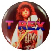 T.Rex - 'Marc Bolan Stage' Button Badge
